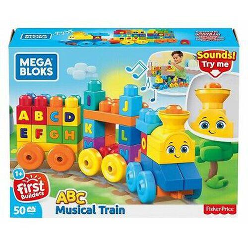 Mega Bloks เมก้า บล็อคส์ เอบีซี ชุดตัวต่อรถไฟ พร้อมเสียงดนตรี