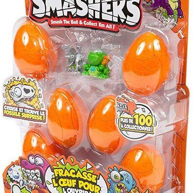 Zuru Smashers ซูรู สแมชเชอร์ ไข่โดโนเสาร์ แพ็ก 8 คละแบบ