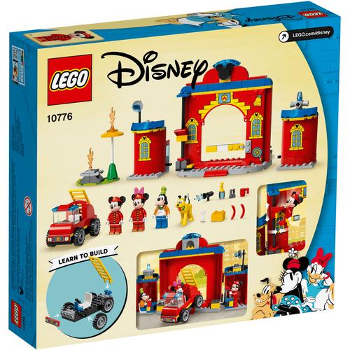 LEGO เลโก้ ดีสนีย์ มิกกี้ แอนด์ เฟรนด์ ฟายเออร์ สเตชั่น แอนด์ ทรัค 10776