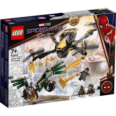 LEGO เลโก้ มาร์เวล สไปเดอร์แมน โดรน ดูเอล 76195