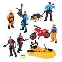 Rescue Force เรสคิว ฟอร์ส เรสคิว ฟิกเกอร์ เพลย์เซ็ต