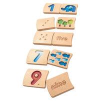 Plantoys แปลนทอยส์ ของเล่นไม้ตัวเลข 1-10
