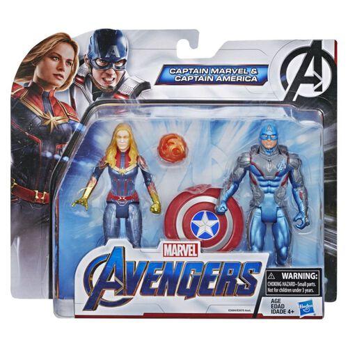 หุ่นแอคชั่นฟิกเกอร์ Avengers Endgame Team 6-Inch Action Figure Packs