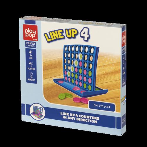 Play Pop เพลย์ป๊อป Line Up 4 Strategy Game