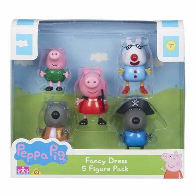 Peppa Pig ฟิกเกอร์เป๊ปป้าพิก แพ็ก5