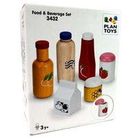 Plantoys แปลนทอยส์ เซ็ตอาหารและเครื่องดื่ม