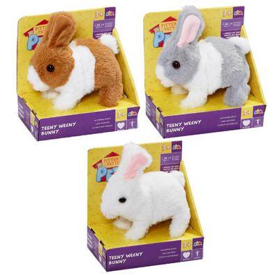 Pitter Patter Pets ตุ๊กตากระต่ายน้อยเดินได้ คละแบบ
