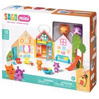 Sago Mini ซาโก้ มินิ เพลย์เซ็ทกระเป๋าหิ้ว ชุดบ้านของจินจ้า