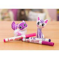 Crayola เครโยล่า สคริบเบิ้ล สครับบี้ ชุดระบายสีและอาบน้ำสัตว์เลี้ยง แมว2ตัว
