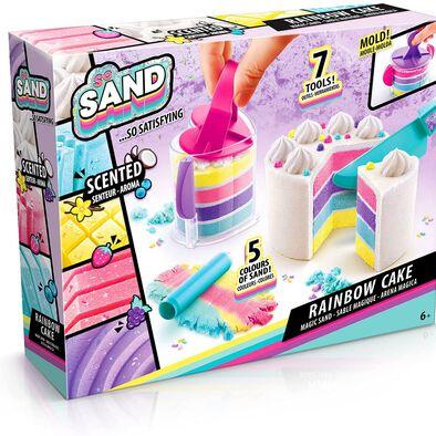 So Sand โซ แซนด์ ชุดของเล่นทรายมหัศจรรย์เค้กสายรุ้ง