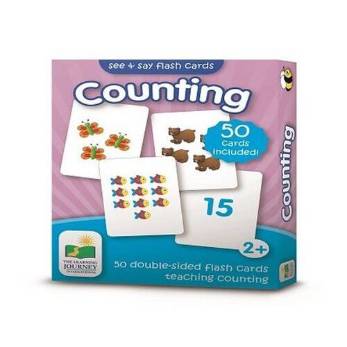 The Learning Journey เดอะ เลิร์นนิ่ง เจอร์นี่ย์ บัตรคำเสริมทักษะ เกี่ยวกับการนับเลข