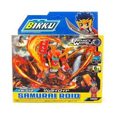 Bikku บิคคุ ตัวต่อบิคคุซีรีส์ 2 ซามูไรรอยด์