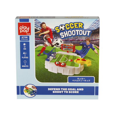 Play Pop เพลย์ป๊อป Soccer Shootout Action Game