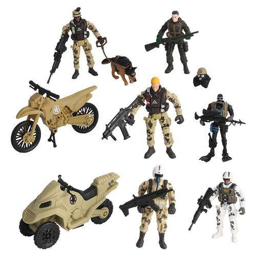 Rescue Force เรสคิว ฟอร์ส เพโทรล ฟิกเกอร์ เพลย์เซ็ต