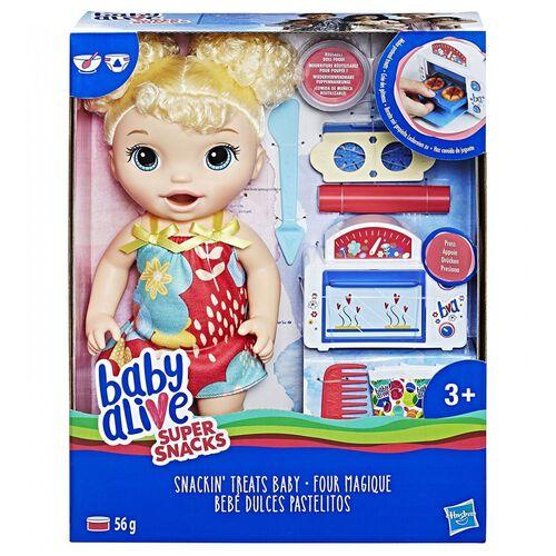 Baby Alive เบบี้ อไลฟ์ สแนคกิง ทรีทส์ เบบี้