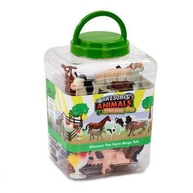 Awesome Animals ออซัม แอนนิมอลส์ ชุดฟิกเกอร์สัตว์ในฟาร์ม