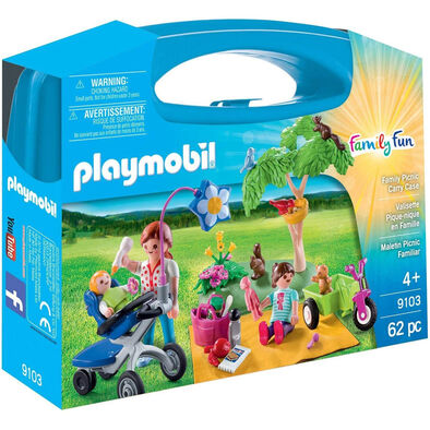 Playmobil เพลย์โมบิล ชุดแฟมิลี่ ปิกนิก ในกล่องกระเป๋าถือ