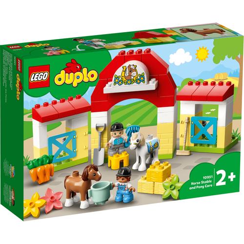LEGO เลโก้ ฮอร์สสเตเบิล แอนด์ โพนี่แคร์ 10951