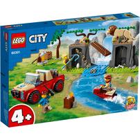 LEGO เลโก้ ซิตี้ ไวลด์ไลฟ์ เรสคิว ออฟโรด 60301