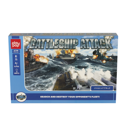 Play Pop เพลย์ป๊อป Battleship Attack Action Game