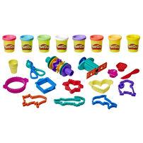 Play-Doh เพลย์โดว์ ชุดแป้งโดว์พร้อมอุปกรณ์เสริม