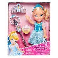 Disney Princess ดิสนีย์ ตุ๊กตาเจ้าหญิงตัวน้อยและเครื่องประดับ
