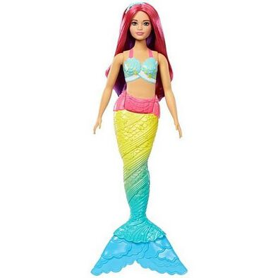 Barbie บาร์บี้ ดรีมโทเปีย เมอร์เมด ดอลล์ (คละแบบ)