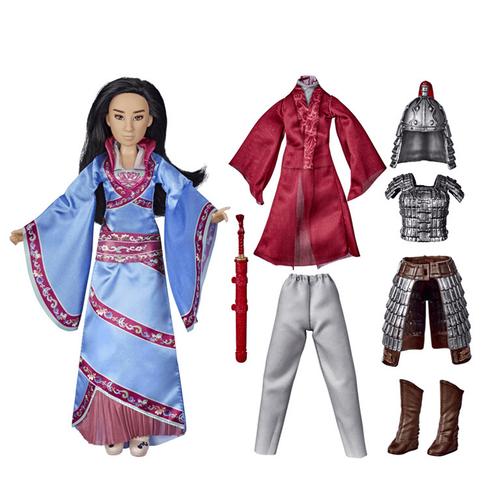 ตุ๊กตาดิสนีย์ชุดมู่หลาน ทูรีเฟล็กชั่น, ตุ๊กตาแฟชั่นพร้อมชุด 2 ชุดและเครื่องประดับ