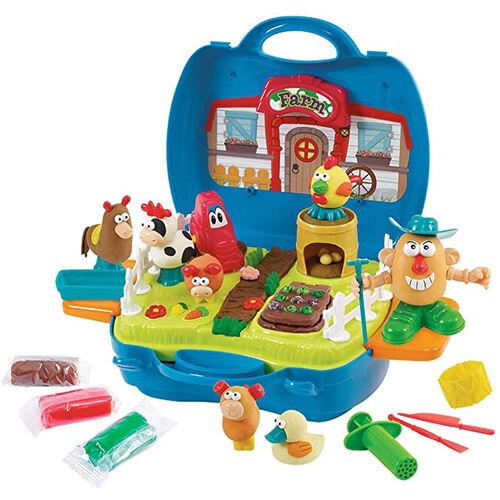 Playgo เพลย์โก เซ็ทโดกระเป๋าหิ้วชุดลิตเติ้ลฟาร์เมอร์