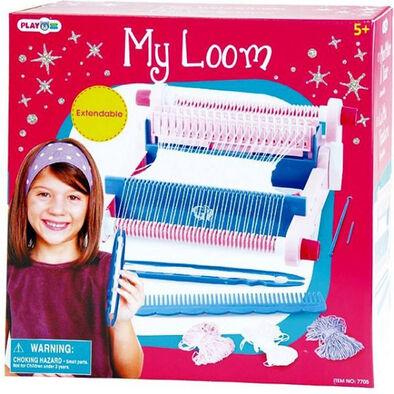 Playgo เพลย์โก ชุดของเล่นเครื่องทอผ้า