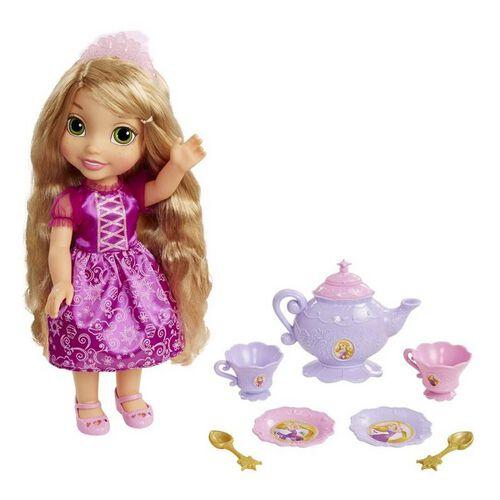 ดิสนีย์ ตุ๊กตาเจ้าหญิงตัวน้อยและชุดน้ำชาสำหรับ 2 ที่ (คละแบบ)