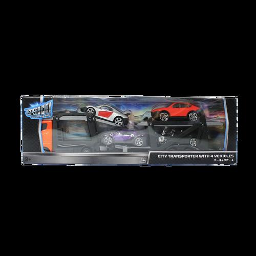 Speed City สปีด ซิตี้ ซิตี้ ทรานสปอร์ตเตอร์ + 4 วีฮิเคิล