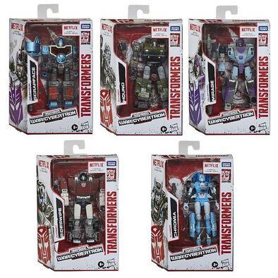 Transformers ทรานส์ฟอร์เมอร์ส: สงครามไซเบอร์ทรอน ไตรภาค