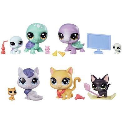 ชุดของเล่นตุ๊กตา Littlest Pet Shop Family Pack