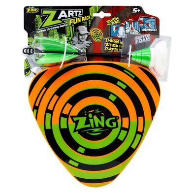 Zing ซาร์ท ฟัน ของเล่นปาเป้าและโล่