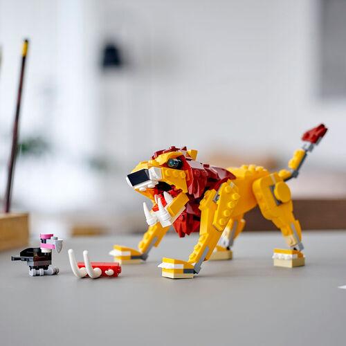 LEGO เลโก้ ไวลด์ ไลออน 31112