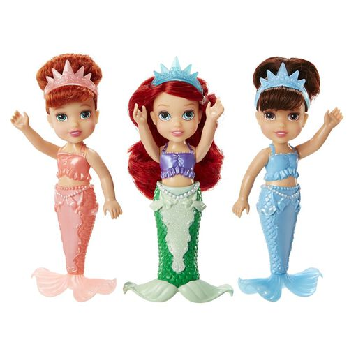 Disney Princess ตุ๊กตาแอเรียลและพี่สาว