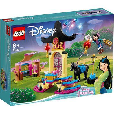 LEGO เลโก้ ดีสนีย์ พรินเซส มู่หลาน เทรนนิ่ง กราวด์ 43182