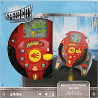 Speed City Junior สปีด ซิตี้ จูเนียร์ ของเล่นเสริมพัฒนาการ พวงมาลัยบังคับรถแข่ง