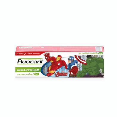 Fluocaril ฟลูโอคารีล ยาสีฟันฟลูโอคิดส์ รสโคลา ลายอเวนเจอร์ชีลด์พาวเวอร์