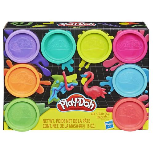 Play-Doh เพลย์โดว์ แป้งปั้นแพ็ค 8 สี ปลอดสารพิษ