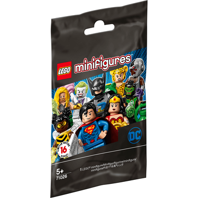 LEGO เลโก้ ดีซี ซุปเปอร์ฮีโร่ ซีรีส์ มินิฟิกเกอร์ แพ็กเดี่ยว 71026