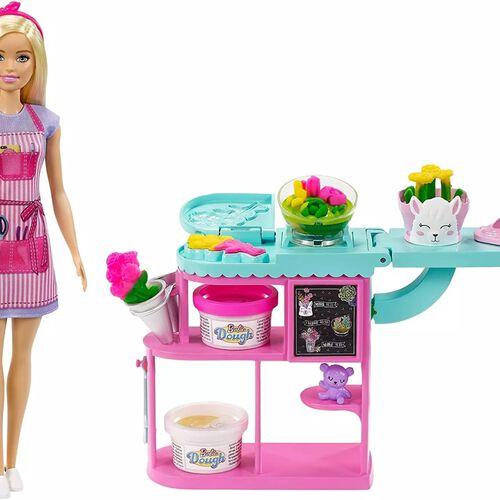 Barbie ตุ๊กตาบาร์บี้ เช็ตร้านดอกไม้