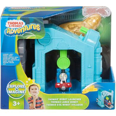ของเล่นรถไฟ โทมัส แอนด์ เฟรนด์ Thomas & Friends Adventures Robot Launcher