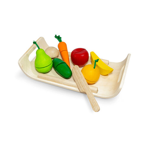 Plantoys แปลนทอยส์ ชุดหั่นผักผลไม้คุณหนู