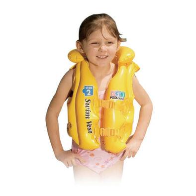 Intex Pool School เสื้อชูชีพว่ายน้ำสำหรับเด็ก สเต็พ 2