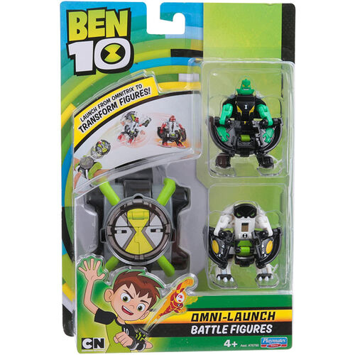 ของเล่น Ben 10 Omni Launch Refill Heatblast+Xlr8