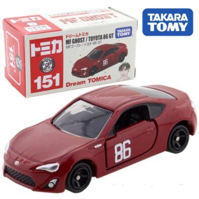 รถเหล็กโทมิก้า No.151 INITIAL D MF Ghost/Toyota 86 GT
