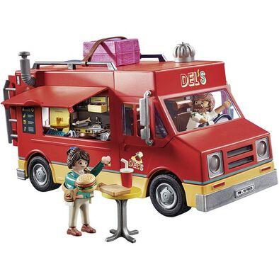 Playmobil เพลย์โมบิล เดอะ มูฟวี่ เดลส์ ฟู้ดทรัค