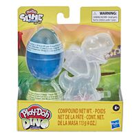 Play-Doh เพลย์โดว์ สไลม์ ไข่ไดโนเสาร์ พร้อมโครงกระดูก คละแบบ